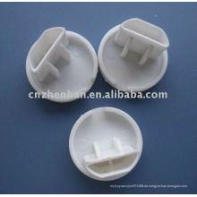 Untere Schienen-Endkappe-Kunststoff-Endkappe für Rolladen, Kunststoff-Endkappe für Vorhang Zubehör