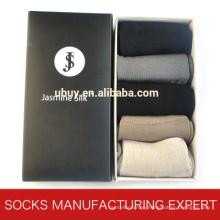Gift Packing Silk Sock for Men