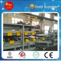 Линия по производству композитных панелей из цветных сталей EPS или Rockwool