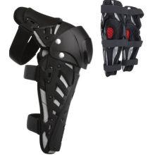 Armure de genou de sports protègent des protections de garde avec le crochet en plastique de ciment pour la course de moto de motocross