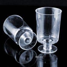 Vajilla Copa de plástico Copa de vino de 1 pieza 5 onzas