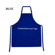 Kefei customized logo print top quality promotional coffee shop tools work clothes cafe apron