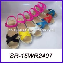 Zapatillas y sandalias nuevas sandalias planas sandalias de cuerda