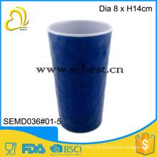 outdoor use singhara pattern design plastic melamine cup