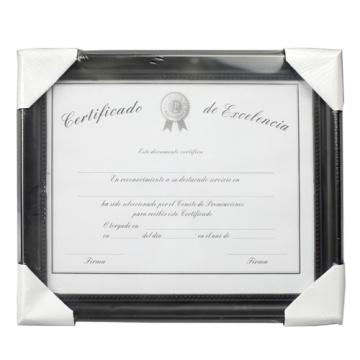Armature de qualité 8,5 « x 11 » Document plastique