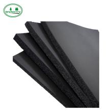 Hoja de aislamiento térmico de goma espuma de esponja de silicona de 3 mm