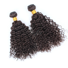 Extensão brasileira crespa Kinky creativa brasileira do cabelo humano de Remy do cabelo