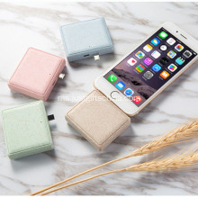 Promosi Mini Gandum Straw Power Bank