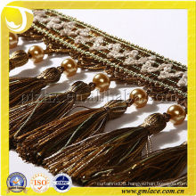 Curtain Fringe Decorative Fringe Curtain Accessories Made In China 11CM Leather Tassel Fringe