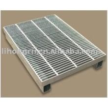 Couvercle de grille en acier, couverture de grille, grille