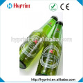 Custom clear stickers for wine bottle and water bottle