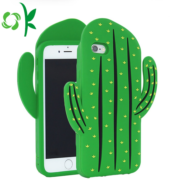 Cartoon Silicone Mobile Cover