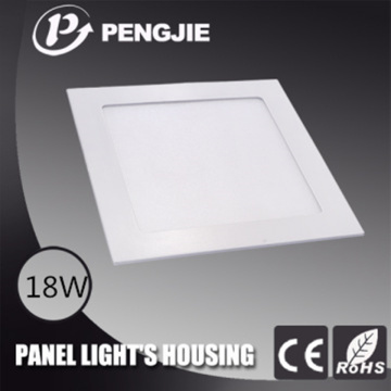225 * 225 18W Fundição em alumínio LED painel luz habitação