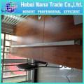 palos de tienda telescópicos ajustables de aluminio