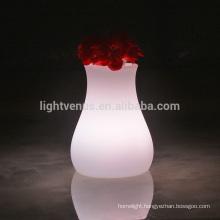 led desk lamp with remote APP Mobile control portable designed LED vase light