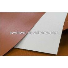 Chine enduit de fibre de verre enduit de caoutchouc de silicone un côté ou revêtement de deux côtés dans différentes couleurs avec la largeur superbe max. 3,45 m
