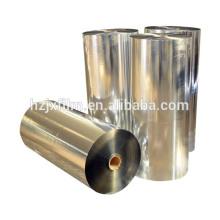 12 Mikrometer PET-Folienbeschichtung Silber