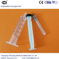 Jeringa estéril desechable con aguja 5cc (ENK-DS-053)