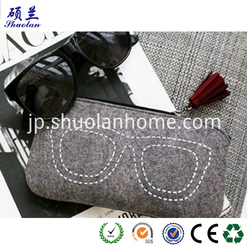 Top Quality Felt Glasses Bag