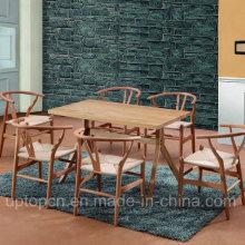 Деревянная мебель ресторана набор с Y стул и стол прямоугольный (СП-CT729)
