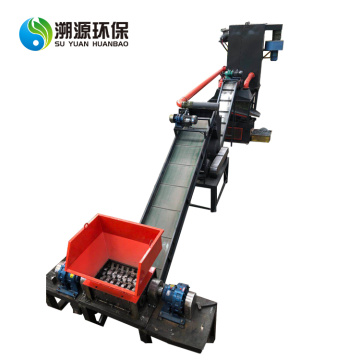 Copper Aluminum Radiator Separator Machine