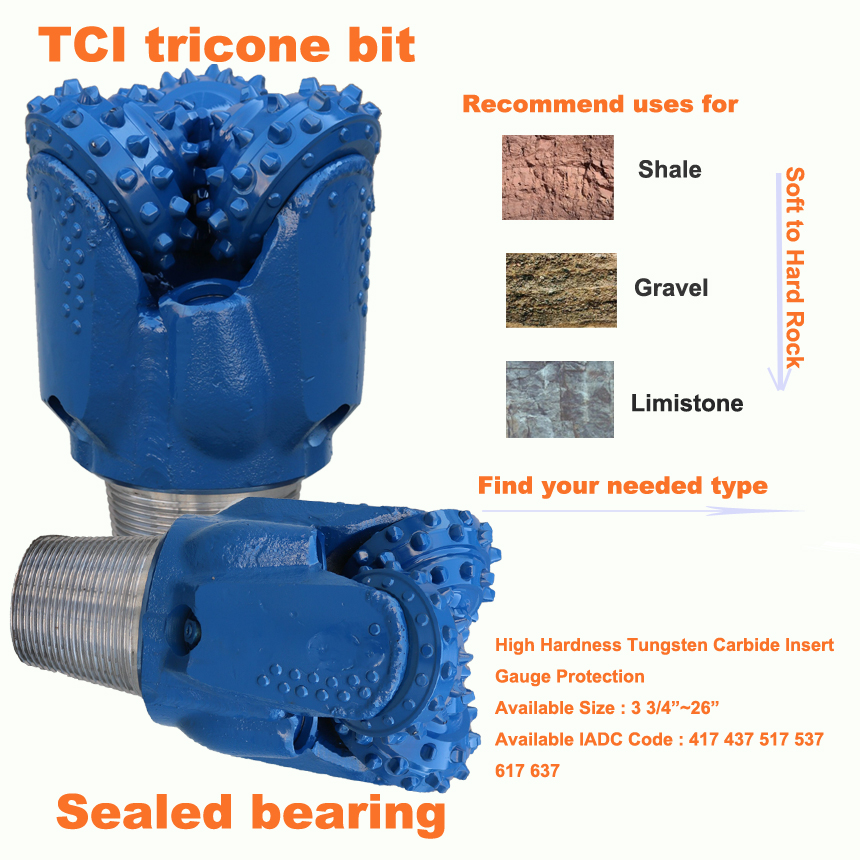 used tci tricone bits for sale