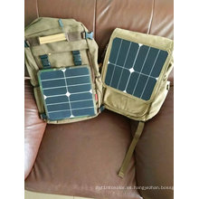 Cargador solar portátil del banco del poder del teléfono móvil 6W
