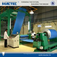 2014 vente chaude machine de revêtement de rouleau de poudre d'aluminium