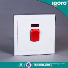 Igoto 45A 250V PC Material High Brass Air Condition Water Heater 45A Switch