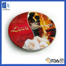 Metal Wedding CD DVD Tin Box Case