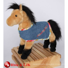 Meet EN71 and ASTM standard ICTI plush toy factory stuffed horse