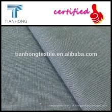 verificar micro do spandex 97 de algodão 3 padrão tecido tecido para calças chino magro magro