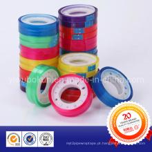 Fita de papelaria de arco-íris