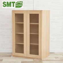 Storage kitchen furniture glass door cabinet modular Japan