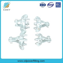 Suspension clamps with socket clevis eye