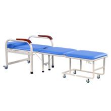 Krankenhaus-Möbel-medizinischer Luxuxklappstuhl für Patienten-Nacht begleiten
