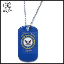 US Navy army soldier dog tags necklace
