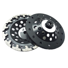 China Manufacture Diamond 180mm T-shaped Grinding Cup Wheel for Concrete Floor