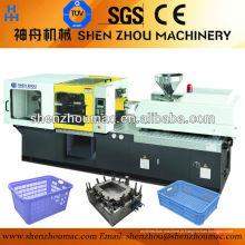 Máquinas de moldagem por injeção plástico / máquina de moldagem de plástico Multi tela para escolha Imported mundialmente famoso componente hidráulico 1