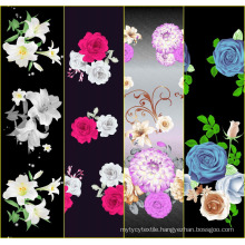 woven pure cotton pigment printed fabric