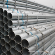 astm a134 galvanized round steel pipe from Liaocheng Shandong China supplier