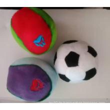 Hund Arten von Plüsch Fußball Spielzeug, Haustier Spielzeug