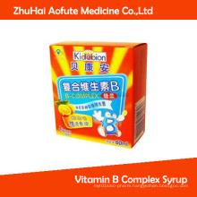 Vitamin B Complex Syrup Medicial Syrup Julep