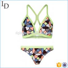 OEM fabricante 2017 sext bikini bra y breve playa desgaste