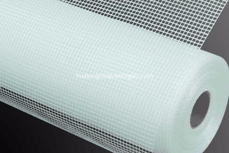 fiberglass mesh application