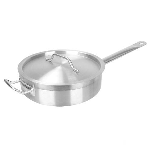 Edelstahl Short Compound Bottom Sauce Pot
