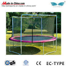 Outdoor Exercise Fitness Equipment Gymnastic Trampolines with Safety Net