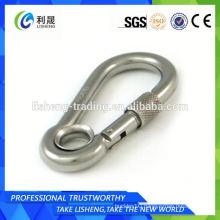 Stainless Steel Spring Gate Snap Hook