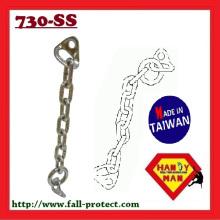 730SS-10 Ketten-Set Industrial mit Bolzen-Aufhänger mit Ring-Felsen-Kletterketten-Anker