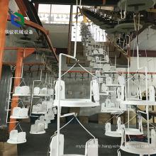 Ligne de revêtement de poudre de recyclage en aluminium à haut rendement